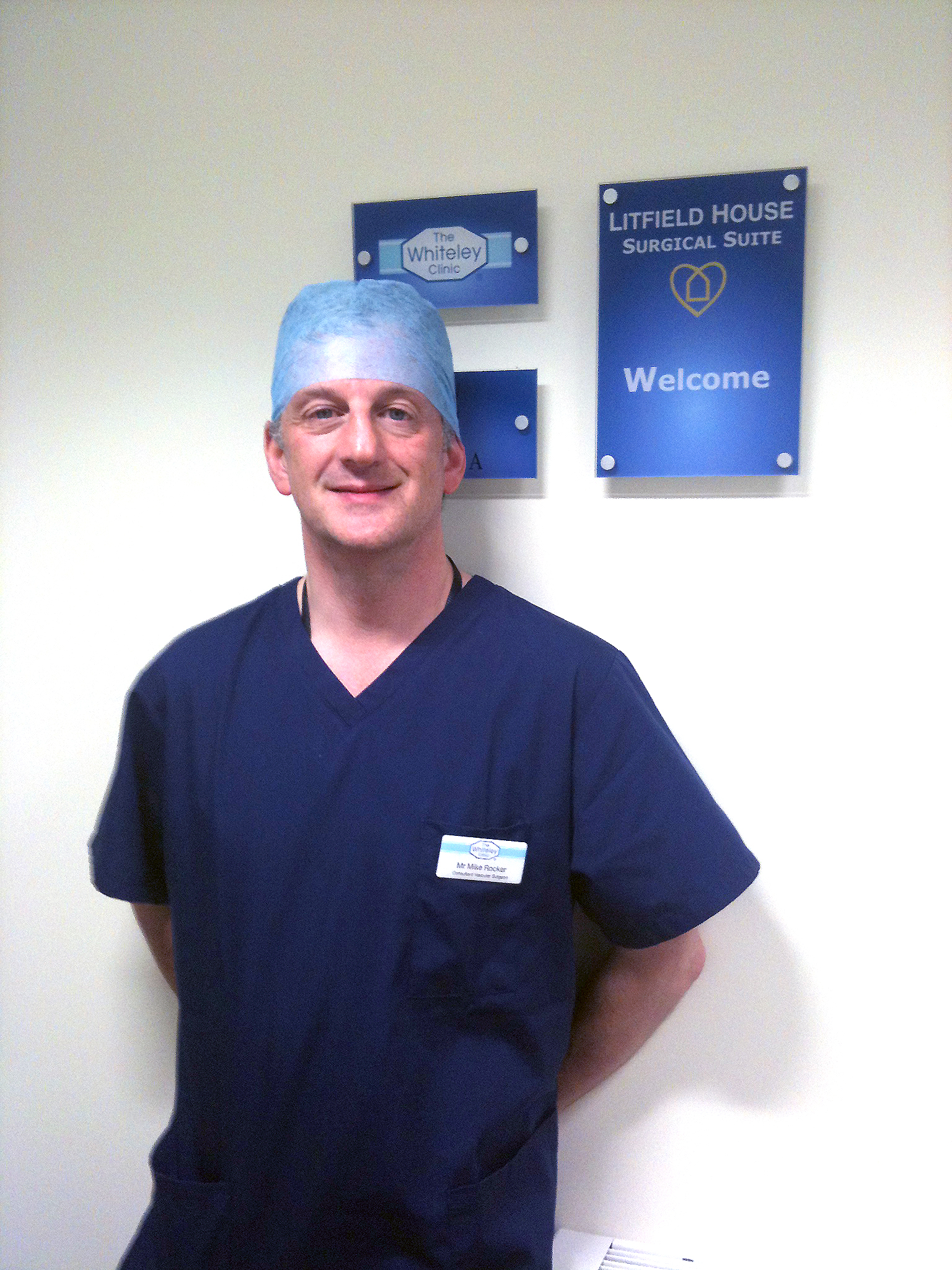 Mike Rocker The Whiteley Clinic Consultant Surgeon